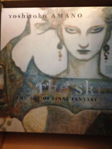 The Sky: The Art of Final Fantasy Hardcover SLIPCASED EDITION