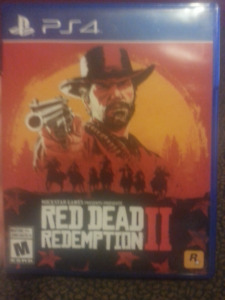 """Red dead redemption 2 """"ps4"""" For Trade/A echanger"""