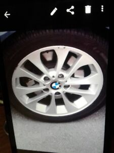 FOUR.....3  SERIES...BMW  ALLOY RIMS   7 X 17