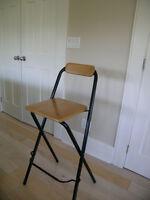 Ikea Franklin folding bar stool