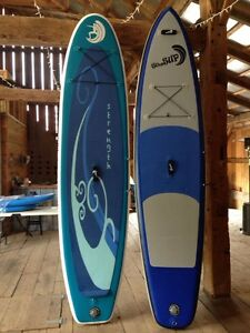 Inflatable paddleboards for sale and for rent