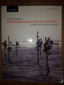 International Development: Approaches, Actors, and Issues