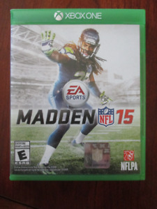 XBOX One Madden 15 NFL Football Game