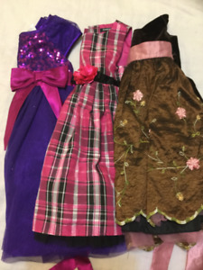 robes 2-4 ans
