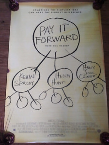 """Pay It Forward (2000) (Double Sided) 27""""x40"""" Movie Poster"""