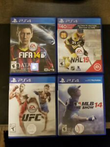 Assorted Older Sports Games $5/Each