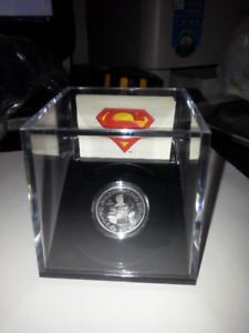 2013 75th Anniversary coin, superman in chains 99.99 silver in c