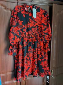 Smock dress brand new size 10