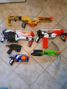 Nerf Air Dart Guns