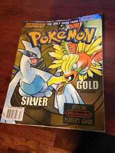 pokemon gold and silver official strategy guide