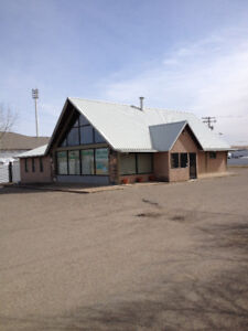 Commercial land and building for sale