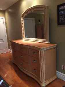 Dresser, entertainment unit and bedside table