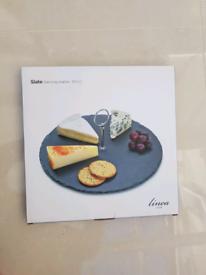 Slate serving platter