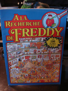 À LA RECHERCHE DE FREDDY-LIVRE JEU/GAME BOOK