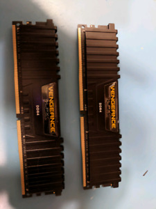 Corsair Vengeance LPX DDR4 2666, 16GB - Black CMK16GX4M2A2666C16