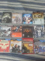 Playstation 3 games/jeux