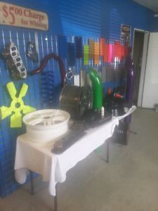 Specialty powder coating and painting