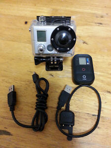 GoPro Hero 2 + Wi-Fi-Bacpac and Remote