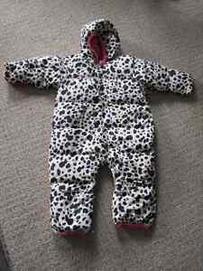 Columbia girls once piece snowsuit - 24M