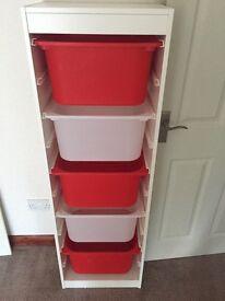 IKEA storage unit and drawers