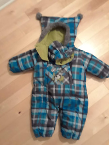 Manteau bébé garçon  9 mois