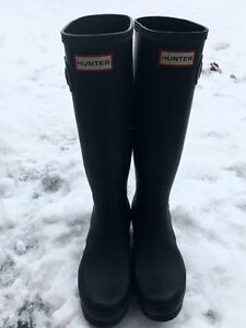 Authentic hunter boots London Ontario image 1
