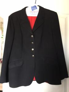 Hunter/Jumper/Dressage Show Jacket - Pikeur Ladies Size 12 Black