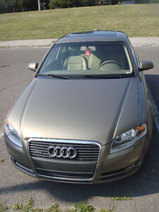 2006 Audi A4 Fully loaded Berline Nego!!!