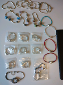 Various charm bracelets