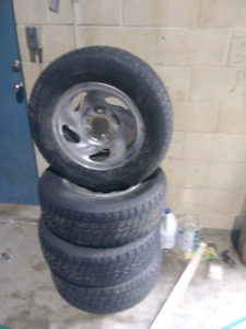 Rims and tires f150