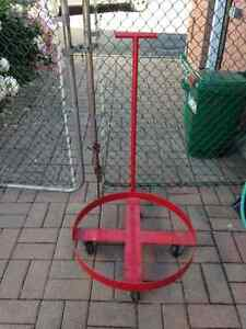 Dolly for 45 gallon drums or tire storage Peterborough Peterborough Area image 1