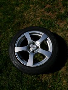 Mini Cooper Rims with Winter Tires