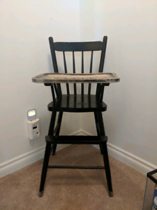 Wooden High Chair Buy Or Sell Feeding High Chairs In Calgary
