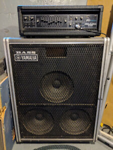Bass cabinet and Head