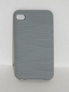 Ipod Touch 4th Generation 4G Belkin Grip Groove Case Grey