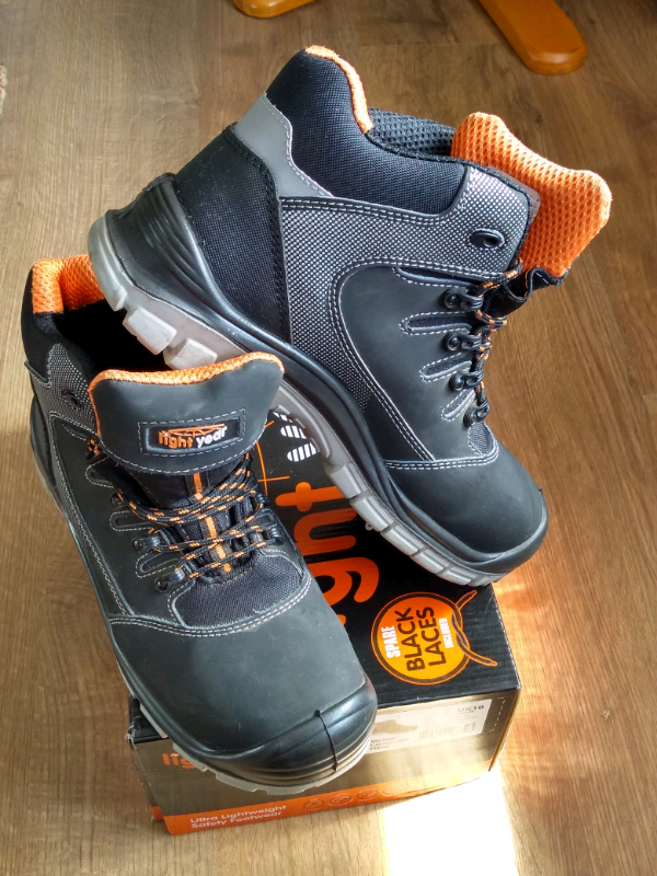 new style 91566 c10c2 Light year ultra lightweight safety footwear trainer shoes size uk10   in  Chelmsford, Essex   Gumtree