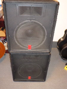 fender non powered speakers trade for bass