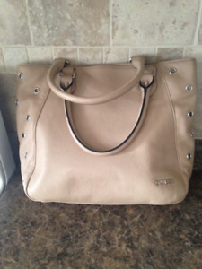 Guess Leather Purse Tan