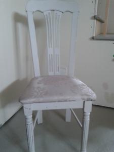 Chaise décorative Vintage relooké Shabby Chic