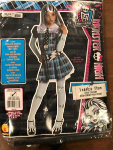 Monster High costume (Girls Size L)