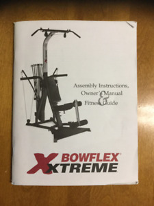 Bowflex Xtreme in New Condition with Original Accessories