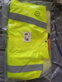 BNIB Hi-Vis Waterproof Jacket. LARGE £10