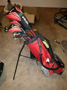 Ping Moxie Junior Clubs for 10-11 year olds $250