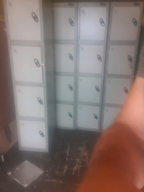 Commercial metal lockers