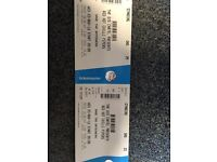 2 X Red hot chilli piper tickets sage gateshead