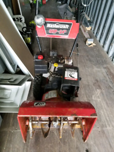 Mastercraft 8hp 24 inch snowblower