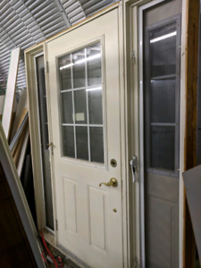 Entry Door with Sidelights - $500