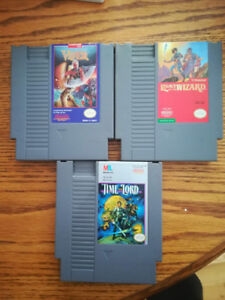 Three NES games for $25. Work great.