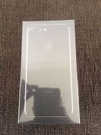 iPhone 7 plus jet black 256BG. Brand new and sealed