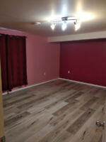 Basement rooms for rent available now
